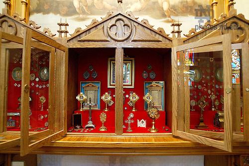 Reliquary chapel, Basilica of the Sacred Heart..Photo by Matt Cashore