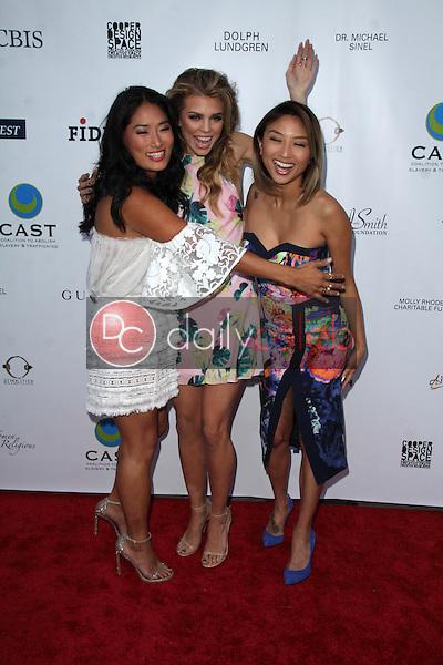Chloe Flower, AnnaLynne McCord, Jeannie Mai<br /> at the 17th From Slavery to Freedom Gala, Skirball Center, Los Angeles, CA 05-21-15<br /> Dave Edwards/DailyCeleb.com 818-249-4998