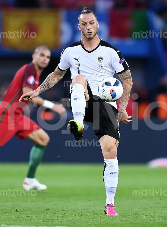 FUSSBALL EURO 2016 GRUPPE F IN PARIS Portugal - Oesterreich      18.06.2016 Marko Arnautovic (Oesterreich)