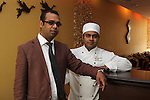 Bipul Khandaker with his Head Chef Kamal Hosian of Rupee Indian Restaurant...(Photo credit should read Jenny Matthews www.newsfile.ie)....This Picture has been sent you under the conditions enclosed by:.Newsfile Ltd..The Studio,.Millmount Abbey,.Drogheda,.Co Meath..Ireland..Tel: +353(0)41-9871240.Fax: +353(0)41-9871260.GSM: +353(0)86-2500958.email: pictures@newsfile.ie.www.newsfile.ie.