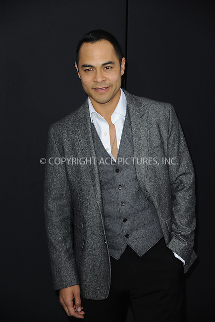 WWW.ACEPIXS.COM<br /> March 4, 2015 New York City<br /> <br /> Jose Pablo Cantillo attending the 'Chappie' New York Premiere at AMC Lincoln Square Theater on March 4, 2015 in New York City.<br /> <br /> Please byline: Kristin Callahan/AcePictures<br /> <br /> ACEPIXS.COM<br /> <br /> Tel: (646) 769 0430<br /> e-mail: info@acepixs.com<br /> web: http://www.acepixs.com