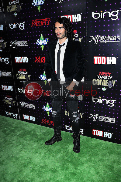 Russell Brand<br /> at Variety's 1st Annual Power Of Comedy Event, Club Nokia, Los Angeles, CA. 12-04-10<br /> David Edwards/DailyCeleb.com 818-249-4998