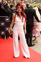 Dianne Buswell arriving for TRIC Awards 2018 at the Grosvenor House Hotel, London, UK. <br /> 13 March  2018<br /> Picture: Steve Vas/Featureflash/SilverHub 0208 004 5359 sales@silverhubmedia.com