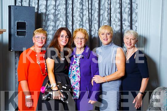 Siobhan Keane(Lixnaw), Martina Fernan(Tralee), Ellen Higgins (Tralee), Mary Higgins (Tralee) and Ina Cuminford (Tralee).