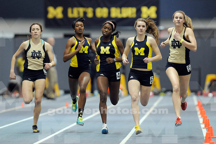 University of Michigan Women's Track, Simmons-Harvey Invitational at UM Indoor Track Building, Saturday, January 18, 2014.