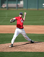 Matthew Liberatore plays in the MLB / USA Baseball Prospect Development Pipeline game at Sloan Park on February 5, 2017 in Mesa, Arizona (Bill Mitchell)