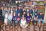 BIG BIRTHDAY: John Brosnan, Ballymacelligott (seated centre) enjoying a great time celebrating his 50th birthday with family and friends at O'Riada's bar, Ballymacelligott on Saturday.