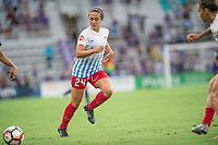 Orlando, FL - Saturday July 01, 2017: Danielle Colaprico during a regular season National Women's Soccer League (NWSL) match between the Orlando Pride and the Chicago Red Stars at Orlando City Stadium.