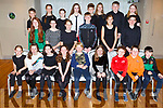 Before they go on stage performing at the Churchill Variety Show in Ballyroe Hotel on Sunday evening