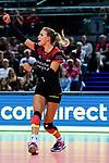 25.08.2018, …VB Arena, Bremen<br />Volleyball, LŠ&auml;nderspiel / Laenderspiel, Deutschland vs. Niederlande<br /><br />Jubel Lenka DŸrr / Duerr (#1 GER)<br /><br />  Foto &copy; nordphoto / Kurth
