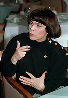 "Mireille Mathieu , 22 Feb 1990 interview<br /> <br /> (born July 22, 1946) is a French singer, who besides being very successful in her own country, became a star of international stature, recording in several languages.<br /> <br /> Discovered by Johnny Stark, manager of France's biggest star at the time, Johnny Hallyday, she was tutored by orchestra leader Paul Mauriat and song writer André Pascal who wrote Mon crédo, Viens dans ma rue, La première étoile and many other hits for her . After her television performance in 1965 and debut run at the Paris Olympia, she was immediately hailed as the next ?dith Piaf, such was her haunting voice.<br /> <br /> Singles such as ""Mon Credo"" and ""C'est Ton Nom"" made her a huge star in France and all over Europe while making her a big success in North America and Mexico. Her French cover of Engelbert Humperdinck's ""The Last Waltz"" generated much publicity in Great Britain and with hit after hit, she soon toured Canada and the United States where she appeared on the Ed Sullivan Show and the Danny Kaye Show. In Las Vegas, she sang with Dean Martin and Frank Sinatra to great applause.<br /> <br /> Still much in demand, she continues to perform regularly. She travels frequently, appearing at such venues as New York City's Carnegie Hall, Sport Palace in Montreal, Universal Amphitheatre in Los Angeles and Ice Palace of St. Petersburg. She has sold about 150 million copies of her albums in her 40 year career, recorded about 1200 songs in 9 languages, and was the first western singer in history who gave concerts in China. Over the years she sang duets with such luminaries as Charles Aznavour, Barry Manilow, Paul Anka, Plácido Domingo, Julio Iglesias, Tom Jones, Peter Alexander and others.<br /> <br /> Songs such as ""Acropolis adieu,"" ""Ne me quitte pas,"" and ""Santa Maria de la mer,"" are considered classics. Her French version of Roy Orbison's ballad, ""Blue Bayou"", is regarded by many as one of the best covers of that popular song. Noted French/Algerian lyricist Eddy Marnay who wrote songs f"