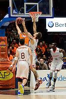 Van Rossom vs Vega<br /> Liga Endesa ACB - 2014/15<br /> J17<br /> Valencia Basket vs Montakit Fuenlabrada