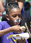 Close up of some of those attending the 11th Annual Mid-town Make a Difference Day Celebration on Franklin Street, in Kingston, NY on Saturday, June  18, 2016. Photo by Jim Peppler. Copyright Jim Peppler 2016.
