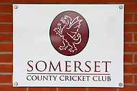 Somerset County Cricket Club signage during Somerset CCC vs Essex CCC, Specsavers County Championship Division 1 Cricket at The Cooper Associates County Ground on 15th April 2017