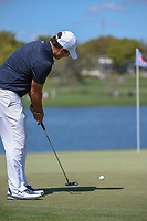Patrick Reed (USA) watches his putt on 6 during round 1 of the Arnold Palmer Invitational at Bay Hill Golf Club, Bay Hill, Florida. 3/7/2019.<br /> Picture: Golffile | Ken Murray<br /> <br /> <br /> All photo usage must carry mandatory copyright credit (&copy; Golffile | Ken Murray)