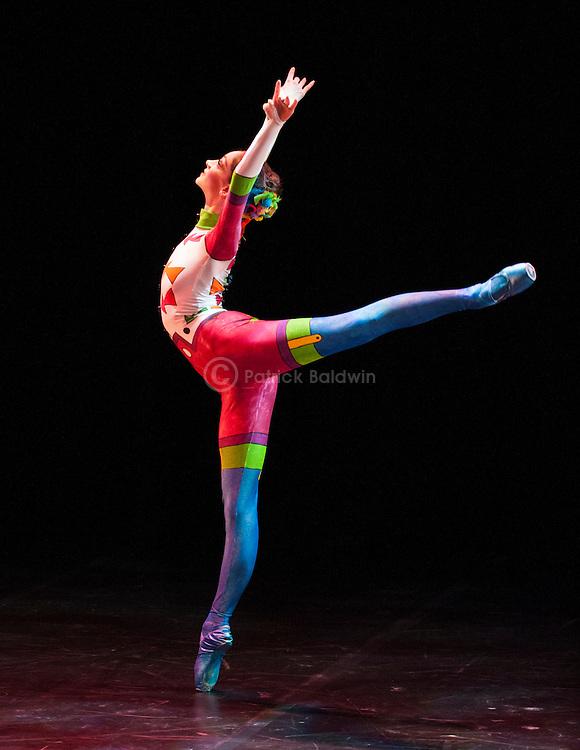 English National Ballet. Emerging Dancer competition 2013. Queen Elizabeth Hall. Laurretta Summerscales.