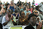 Candid of the audience members durin the performance by the Charenee Wade Group, at the Annual Jazz in the Valley Festival,  in Waryas Park in Poughkeepsie, NY, on Sunday, August 21, 2016. Photo by Jim Peppler. Copyright Jim Peppler 2016 all rights reserved.