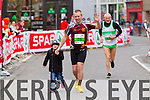 Dave Delea, 75 and David Matthew Brady, 13 who took part in the 2015 Kerry's Eye Tralee International Marathon Tralee on Sunday.