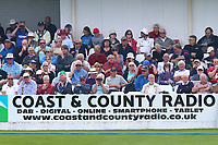 Spectators look on during Yorkshire CCC vs Essex CCC, Specsavers County Championship Division 1 Cricket at Scarborough CC, North Marine Road on 6th August 2017