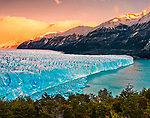 Perito Moreno Glacier at Los Glaciares National Park<br /> in Santa Cruz Province in Argentina Patagonia (Declared a World Heritage Site by UNESCO)