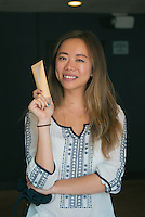 Faith Xue at DNA Renewal Skincare Endless Summer Beauty Brunch at Ace Hotel DTLA on Sept. 22, 2015 (Photo by Tiffany Chien/Guest Of A Guest)