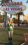 Madame Tussauds Las Vegas displays Britney Spears Wax Figure at the Welcome to Las Vegas Sign Las Vegas rings in 2018 with fireworks from the top of the Stratosphere