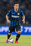 Yuto Nagatomo of FC Internazionale Milano in action during the AC Milan vs FC Internazionale Milano as part of the International Champions Cup 2015 at the Longgang Stadium on 25 July 2015 in Shenzhen, China. Photo by Aitor Alcalde / Power Sport Images
