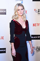 LONDON, ENGLAND. October 6, 2016: Alice Eve at the London Film Festival premiere for &quot;Black Mirror&quot; at the Bluebird Cafe, Chelsea, London.<br /> Picture: Steve Vas/Featureflash/SilverHub 0208 004 5359/ 07711 972644 Editors@silverhubmedia.com