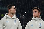 Cristiano Ronaldo of Juventus and Paulo Dybala during the UEFA Champions League match at Juventus Stadium, Turin. Picture date: 26th November 2019. Picture credit should read: Jonathan Moscrop/Sportimage