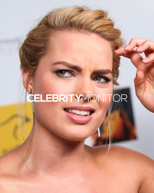SANTA MONICA, CA, USA - OCTOBER 26: Margot Robbie arrives at the 3rd Annual Australians in Film Awards Benefit Gala held at the Starlight Ballroom at Fairmont Miramar Hotel & Bungalows on October 26, 2014 in Santa Monica, California, United States. (Photo by Xavier Collin/Celebrity Monitor)