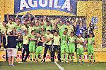Atlético Nacional venció como visitante 1-0 a Atlético Junior (3-1 en el global) y se coronó campeón de la Copa Águila 2016.