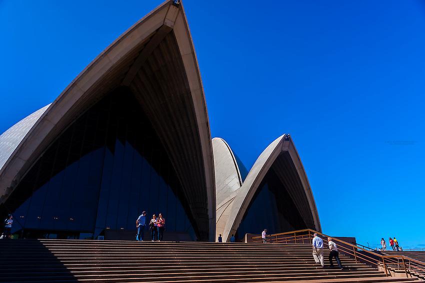 Sydney Opera House, Bennelong Point, Sydney Harbor, Sydney, New South Wales, Australia