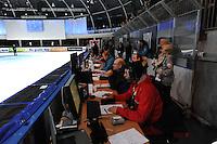 SCHAATSEN: DORDRECHT: Sportboulevard, Korean Air ISU World Cup Finale, 12-02-2012, Officials, ©foto: Martin de Jong
