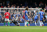 Pictured: Frank Lampard scores a penalty to make the score two nil<br />