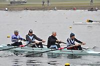 082 WeybridgeRC MasH.4‐..Marlow Regatta Committee Thames Valley Trial Head. 1900m at Dorney Lake/Eton College Rowing Centre, Dorney, Buckinghamshire. Sunday 29 January 2012. Run over three divisions.