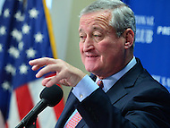 Washington, DC - June 21, 2016: Philadelphia Mayor Jim Kenney speaks during a news conference about the 2016 Democratic National Convention at the National Press Club in the District of Columbia, June 21, 2016. Philadelphia is the host city for the convention.  (Photo by Don Baxter/Media Images International)