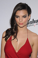 NEW YORK, NY - FEBRUARY 10: Emily Ratajkowski attends the 2015 Sports Illustrated Swimsuit Issue celebration at Marquee on February 10, 2015 in New York City.. Credit: John Palmer/MediaPunch
