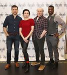 Tony Yazbeck, Irina Dvorovenko, Peter Friedman, and Teagle F. Bougere attends the press photocall for 'The Beast In The Jungle' at the New 42nd Street Studios on April 3, 2018 in New York City.