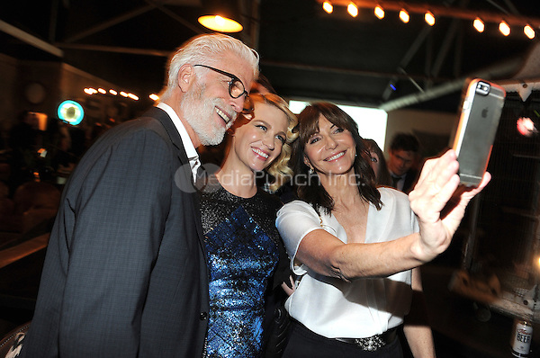 LOS ANGELES - FEBRUARY 24: Ted Danson, January Jones, and Mary Steenburgen at an exclusive screening of the premiere episode of FOX's 'The Last Man on Earth' at Big Daddy's Antique Shop on February 24, 2015 in Los Angeles, California. Credit: PGFM/MediaPunch