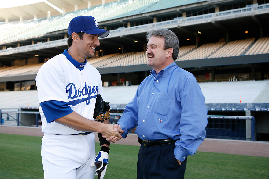 Los Angeles Dodgers Nomar Garciaparra<br /> <br /> &copy;Jon SooHoo/ Los Angeles Dodgers 2006