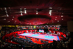General view, <br /> AUGUST 23, 2018 - Taekwondo : <br /> at Jakarta Convention Center Plenary Hall <br /> during the 2018 Jakarta Palembang Asian Games <br /> in Jakarta, Indonesia. <br /> (Photo by Naoki Nishimura/AFLO SPORT)