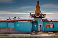 La Cita Mexican Hat  restaurant in Tucumcari New Mexico, on Route 66.