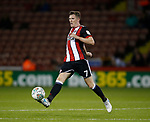 John Lundstram of Sheffield Utd  during the Carabao Cup, second round match at Bramall Lane, Sheffield. Picture date 22nd August 2017. Picture credit should read: Simon Bellis/Sportimage