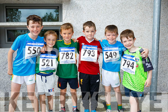 At the CBS, The Green Fun Run on Sunday were Cody O'Sullivan, Phillip Doyle, Eoin Tansley, Danny Kingston, Kevin O'Sullivan, Cody Shanahan