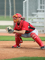 Chris Denove. Cincinnati Reds spring training workouts at the Reds new complex, Goodyear, AZ - 02/19/2010.Photo by:  Bill Mitchell/Four Seam Images.