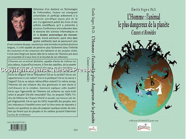 Portrait de l'auteur d'un livre<br /> <br /> <br /> Photo : Pierre Roussel
