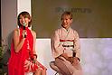 Jan. 20, 2010 - Tokyo, Japan - shu uemura launches their new make-up sakura collection for Spring. This special sakura collaboration takes part between photographer, Mika Ninagawa and Japanese model, Yu Yamada.