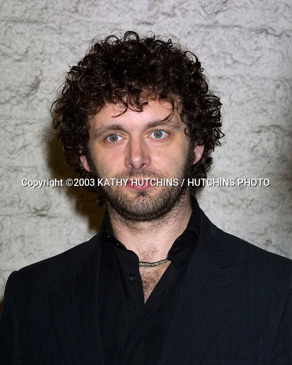 ©2003 KATHY HUTCHINS / HUTCHINS PHOTO.TIMELINE PREMIERE.WESTWOOD, CA.NOVEMBER 19, 2003..MICHAEL SHEEN