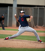 Antonio Romero - Cleveland Indians 2016 spring training (Bill Mitchell)