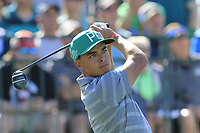 Rickie Fowler (USA) tees off the 1st tee during Saturday's Round 3 of the Waste Management Phoenix Open 2018 held on the TPC Scottsdale Stadium Course, Scottsdale, Arizona, USA. 3rd February 2018.<br /> Picture: Eoin Clarke | Golffile<br /> <br /> <br /> All photos usage must carry mandatory copyright credit (&copy; Golffile | Eoin Clarke)